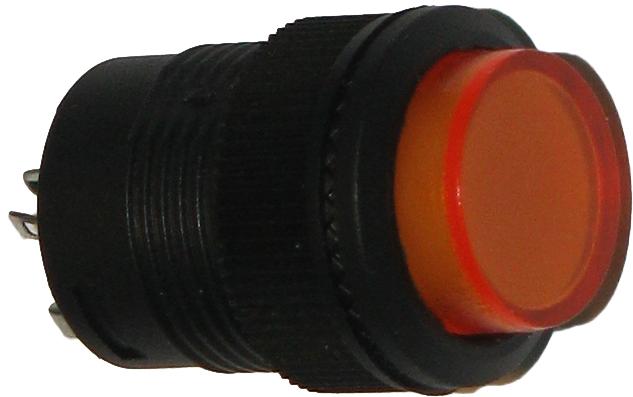кнопка оранжевая
