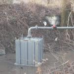 Малая ГЭС на основе гидротарана с мощностью 10 кВт