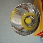 Светильник на основе энергосберегающей светодиодной лампы