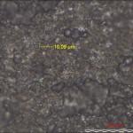 Алмазная пленка под микроскопом